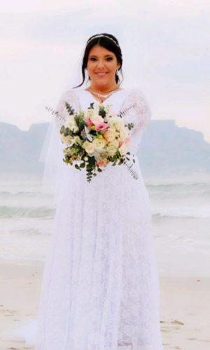 Bell Sleeve Infinity Wedding Dress