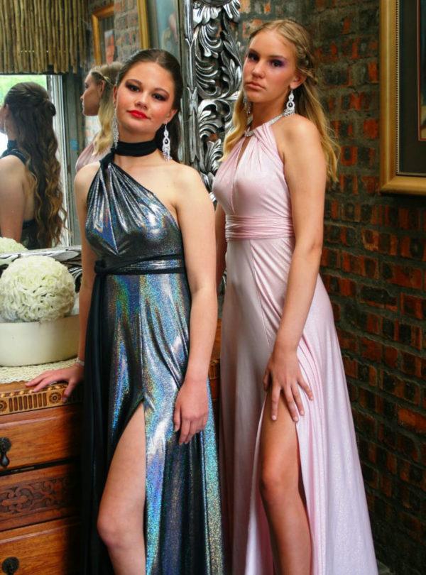 Holographics Infinity Dress