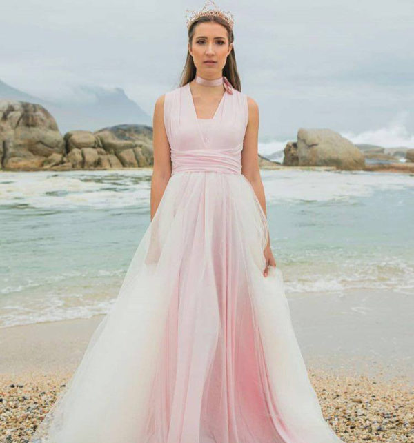 Ombre Tulle Infinity Dress