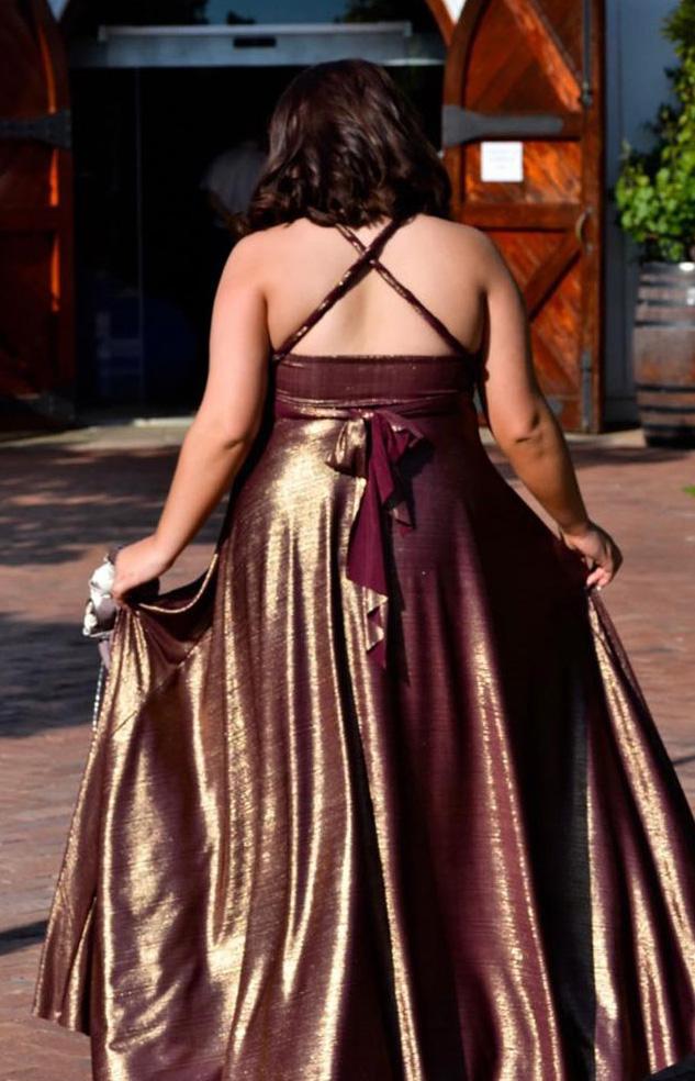 Metallic Infinity Dress