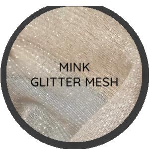 Mink Glitter Mesh